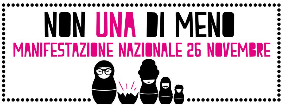<p>PerLeDonne sostiene e partecipa alla manifestazione del 26 novembre a Roma contro la violenza maschile sulle donne #NonUnaDiMeno Un terzo delle donne italiane, straniere e migranti, subisce violenza fisica, psicologica, sessuale, spesso fra le mura domestiche e davanti ai suoi figli. Dall'inizio dell'anno decine e decine di donne sono state [&hellip;]</p>