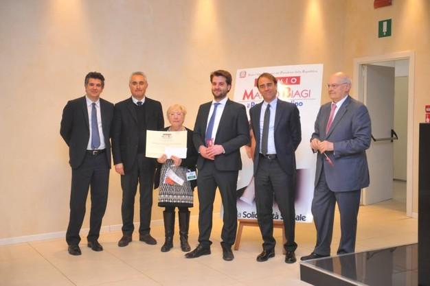 Mria Rosa riceve Premio Marco Biagi